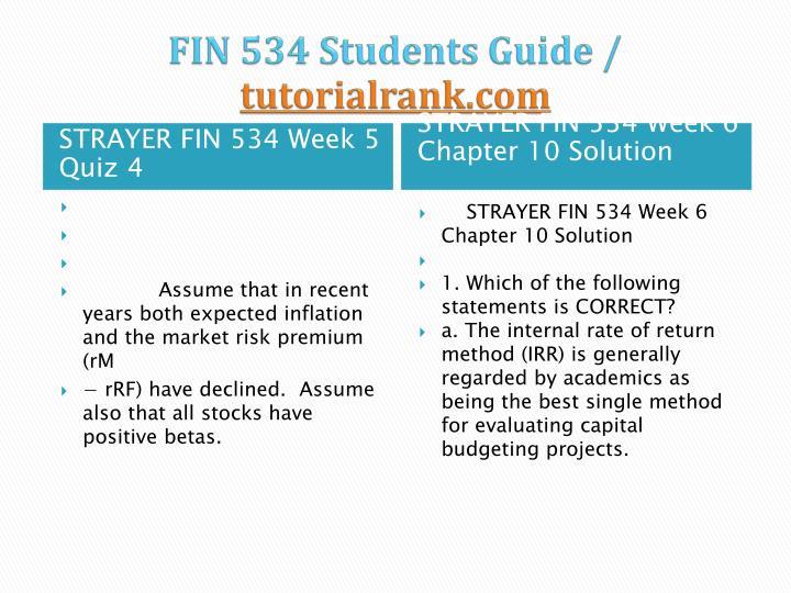 fin 534 quiz 3 week 4 strayer Strayer fin 534 week 4 quiz 3 $999 add to cart strayer fin 534 week 3 quiz 2 $999 add to cart strayer fin 534 week 3 chapter 5 solution $500 add to cart.