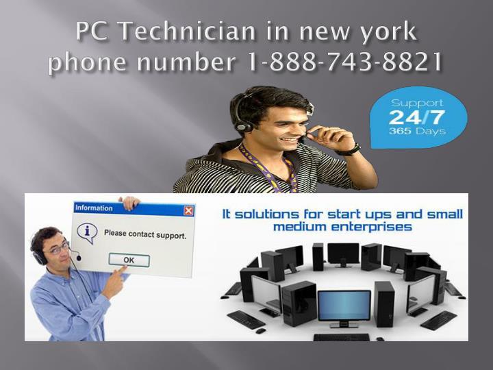PC Technician in new