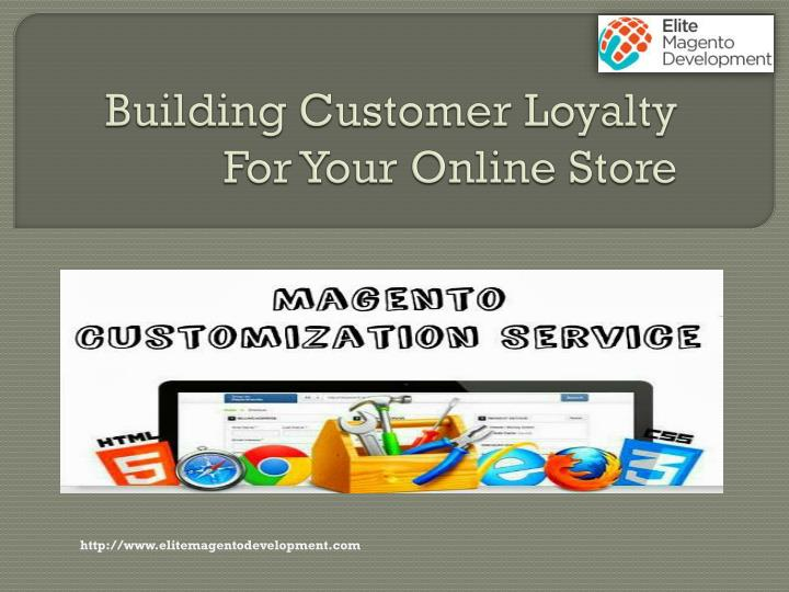 how to build customer loyalty online