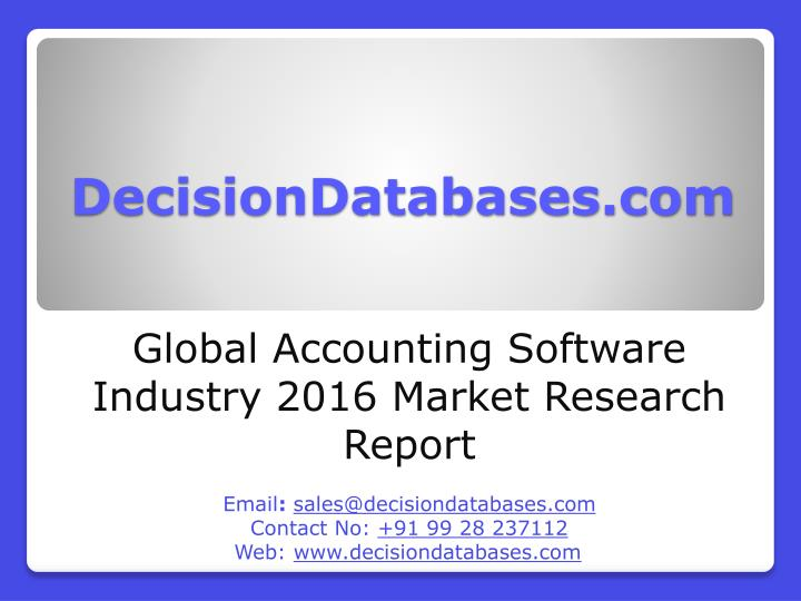DecisionDatabases.com