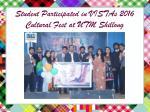 student participated in vistas 2016 cultural fest at utm shillong