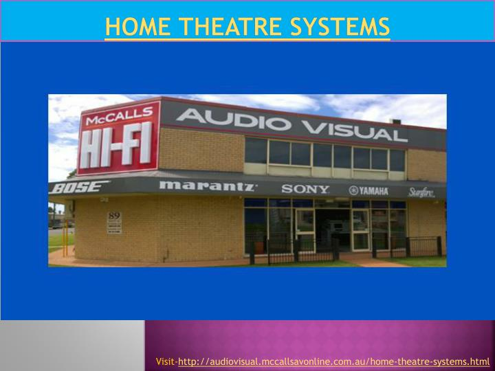 home theatre systems n.