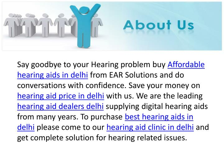 Say goodbye to your Hearing problem buy