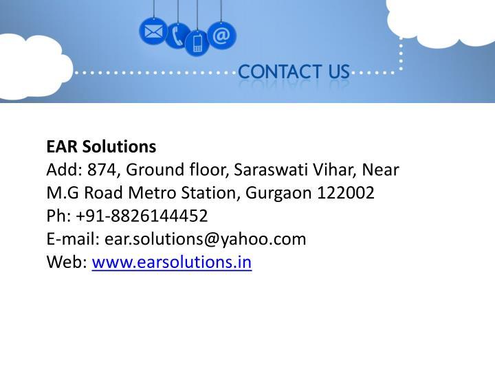 EAR Solutions