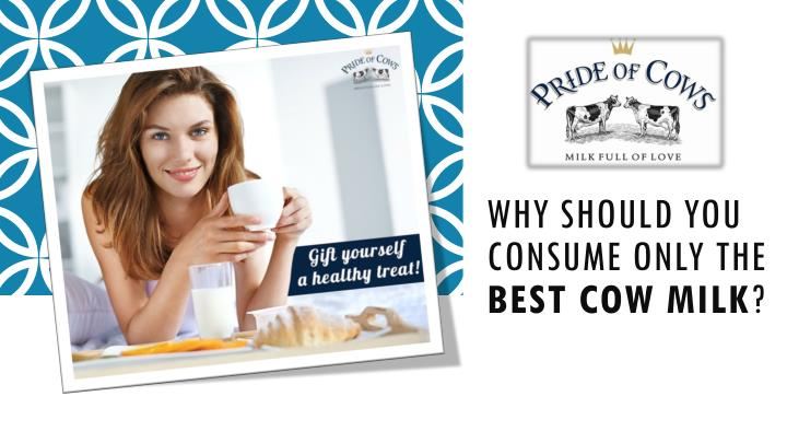Why should you consume only the best cow milk