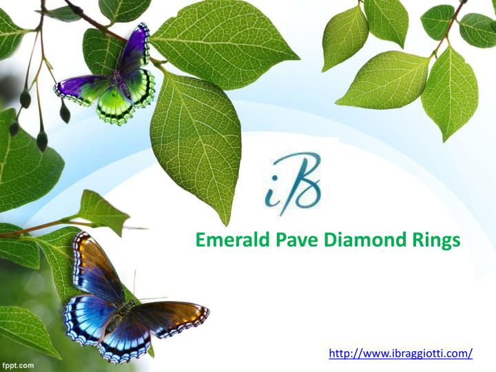 Emerald Pave Diamond
