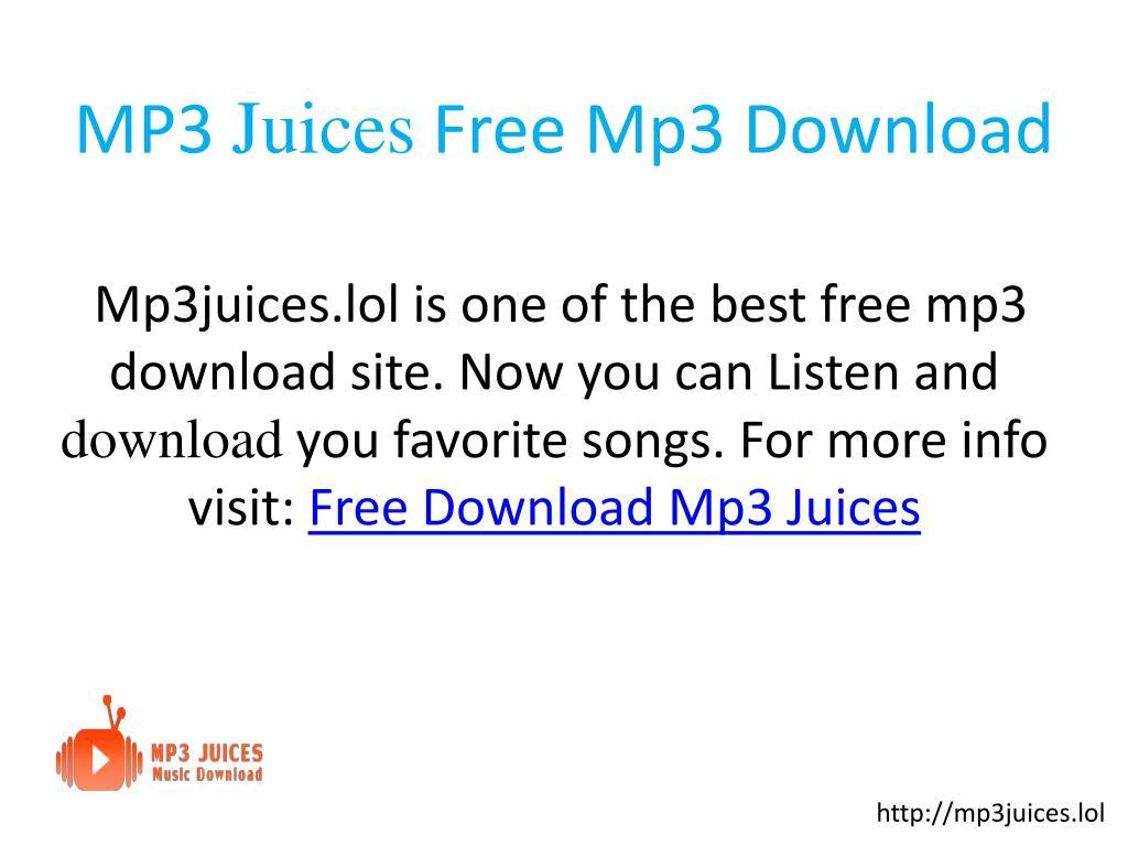 Mp3juice free download