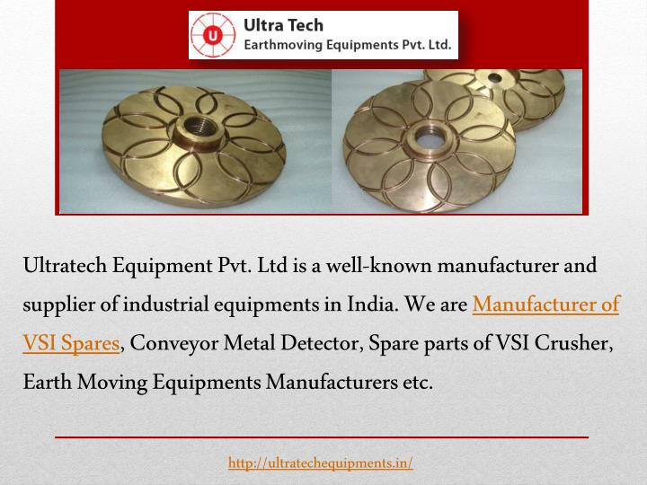 Ultratech Equipment Pvt. Ltd is a well-known manufacturer and supplier of industrial equipments in I...