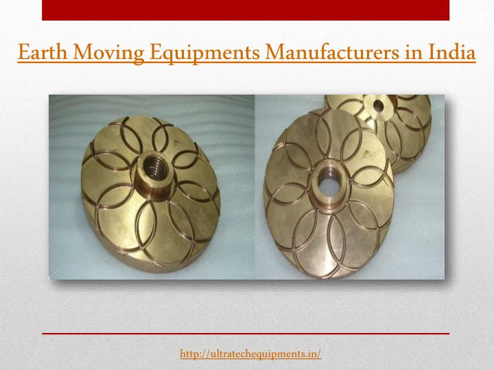 Earth Moving Equipments Manufacturers in India
