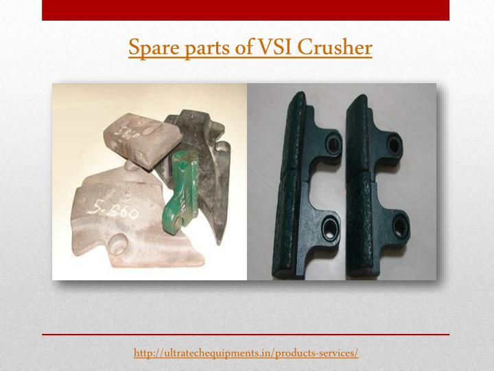 Spare parts of VSI Crusher