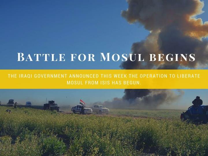 fight for mosul begins n.