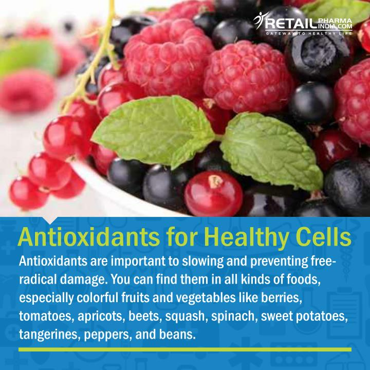 Antioxidants for Healthy Cells