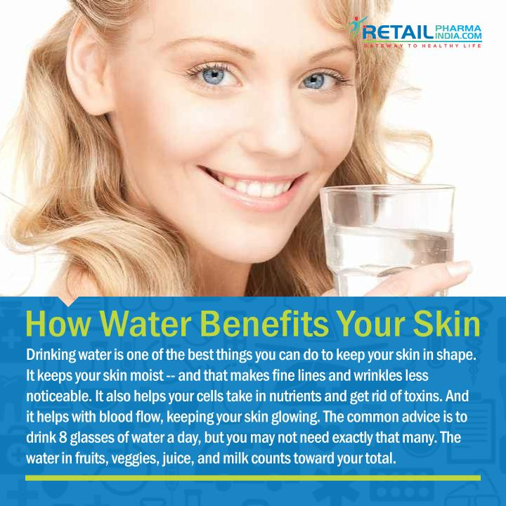 How Water Benefits Your Skin