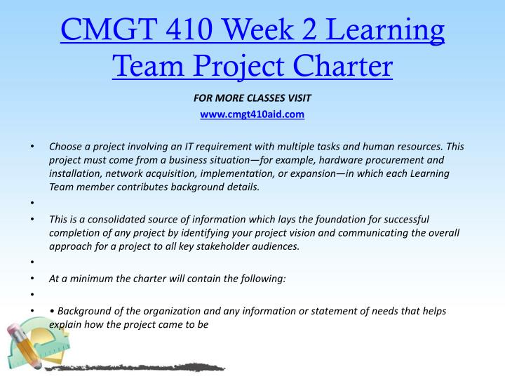 cmgt 555 week 2 team project Cmgt 555 entire course for more classes visit wwwsnaptutorialcom cmgt 555 week 1 individual software application domains cmgt 555 week 2 team project overview cmgt 555 week 2 individual system planning cmgt 555 week 3 team requirements document cmgt 555 week 3 individual system design cmgt 555 week 4 team.