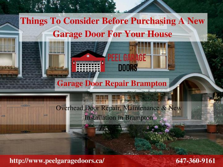 Things To Consider Before Purchasing A New