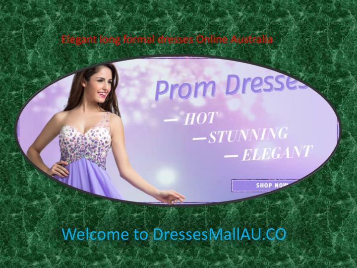 Elegant long formal dresses Online Australia
