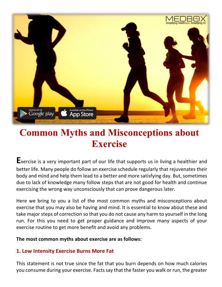 Common Myths and Misconceptions about