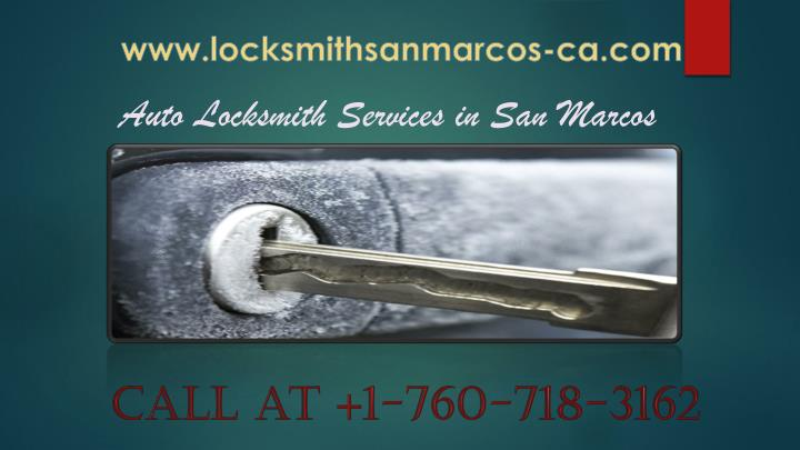Auto Locksmith Services in San Marcos