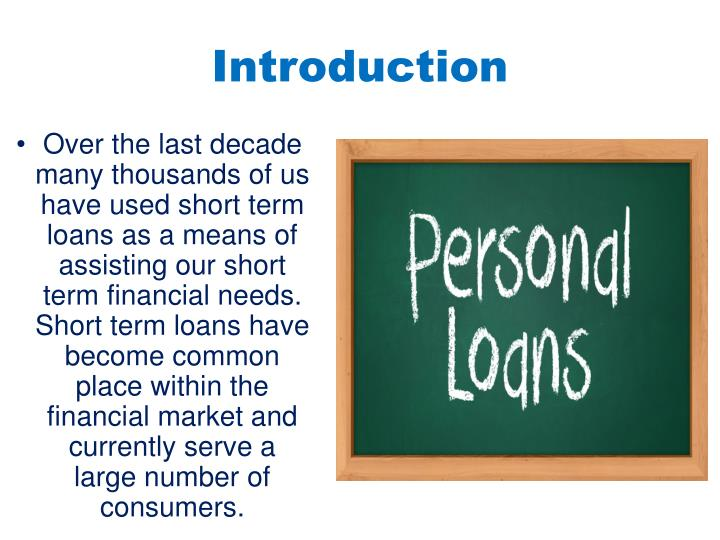 an introduction to the lenders of loans More likely to default than others or which loans are likely  factors affecting credit risk factors affecting credit risk credit good bad.