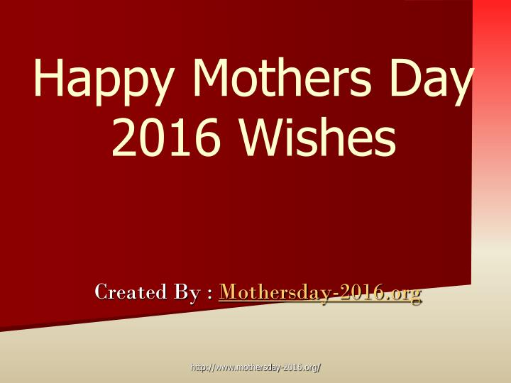 happy mothers day 2016 wishes n.