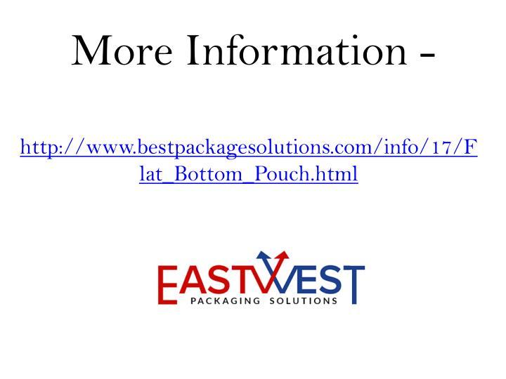 More Information -