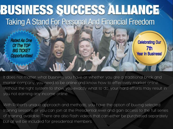 It does not matter what business you have or whether you are a traditional brick and