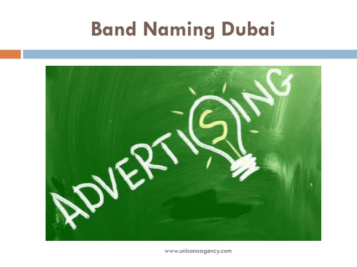 Band Naming Dubai