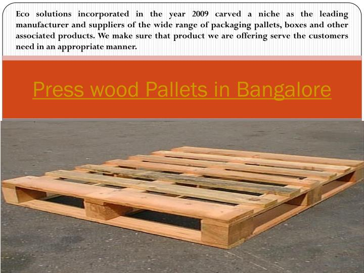 Eco solutions incorporated in the year 2009 carved a niche as the leading