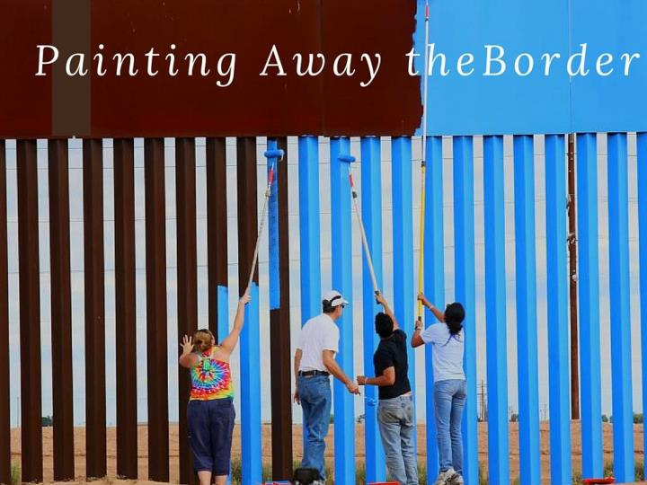 painting endlessly the border n.