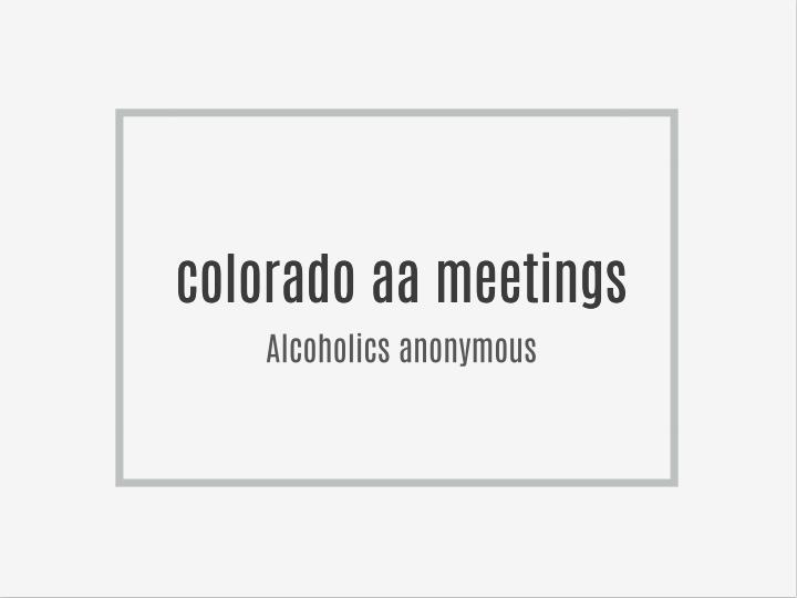 alcoholics anonymous support group aa essay Alcoholic's anonymous or any similar topic specifically for you i attended an aa group with a friend of mine who considered this group to be her home group but i can understand and appreciate the power of group and mutual support aa and ga offer that to those who enter the.