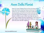 avon delhi florist