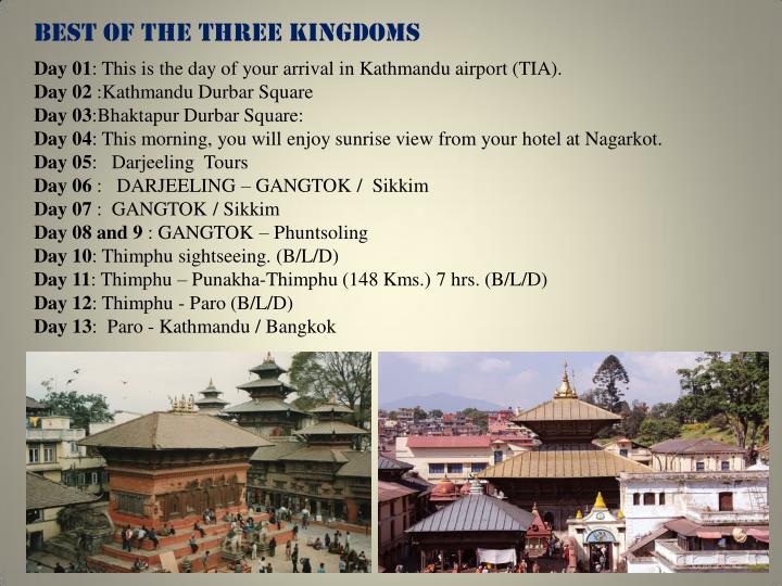 BEST OF THE THREE KINGDOMS