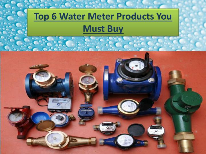 Top 6 water meter products you must buy