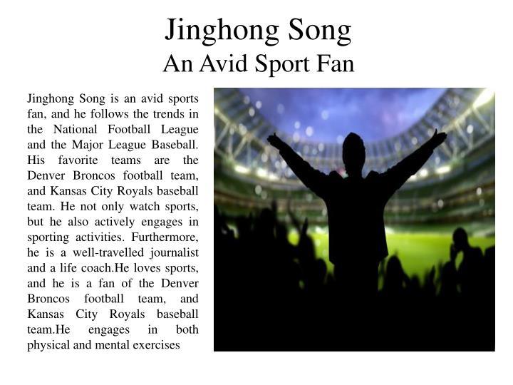 Jinghong Song