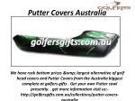 putter covers australia