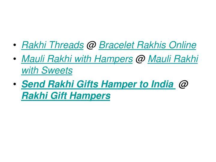Rakhi Threads