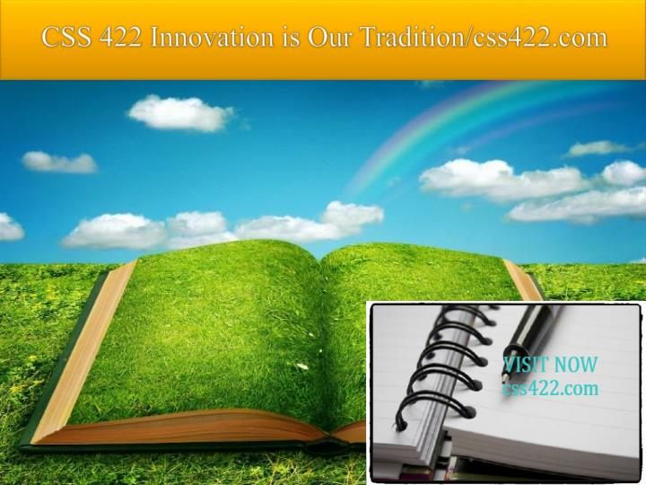 Css 422 innovation is our tradition css422 com