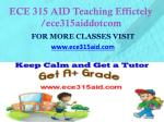 ece 315 aid teaching effictely ece315aiddotcom1
