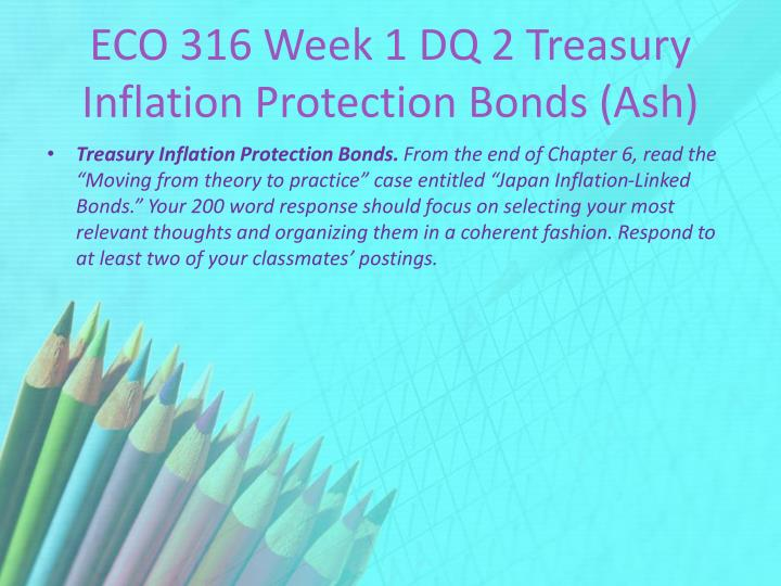 eco 316 week 2 dq 1 Eco 316 week 2 dq 1 new product will i be rich get your paper with a similar question done by our experts just fill out the form below: javascript is disabledjavascript is disabled on your browser.