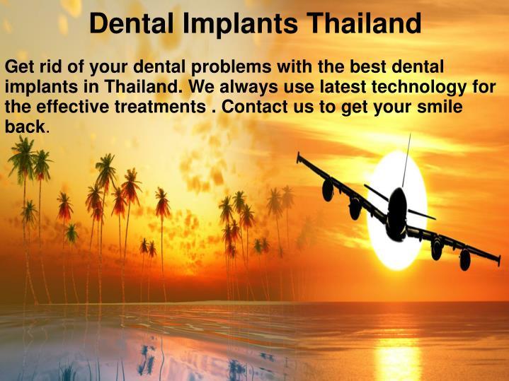 Dental Implants Thailand