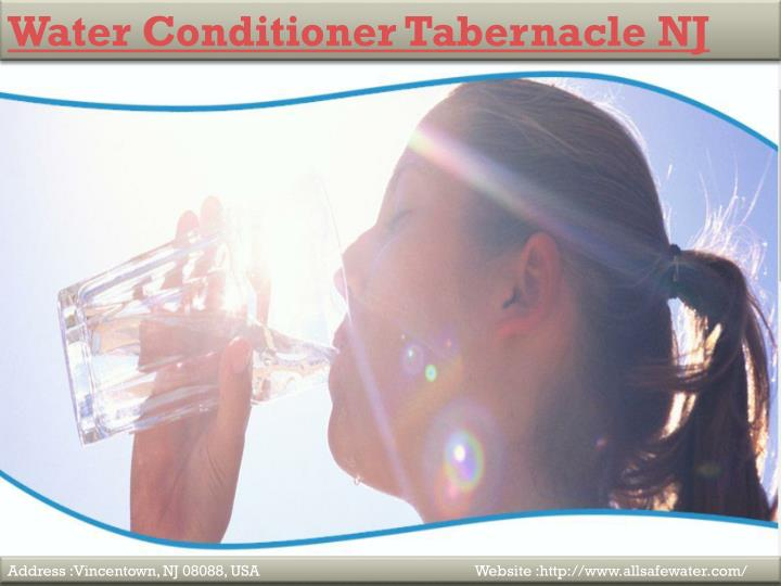 Water Conditioner Tabernacle NJ