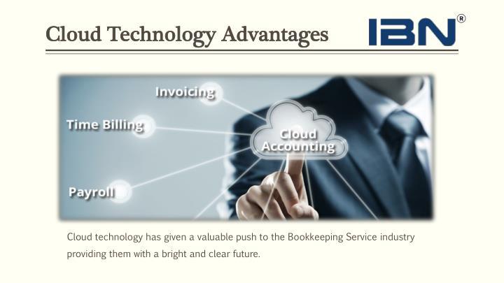 Cloud technology a dvantages