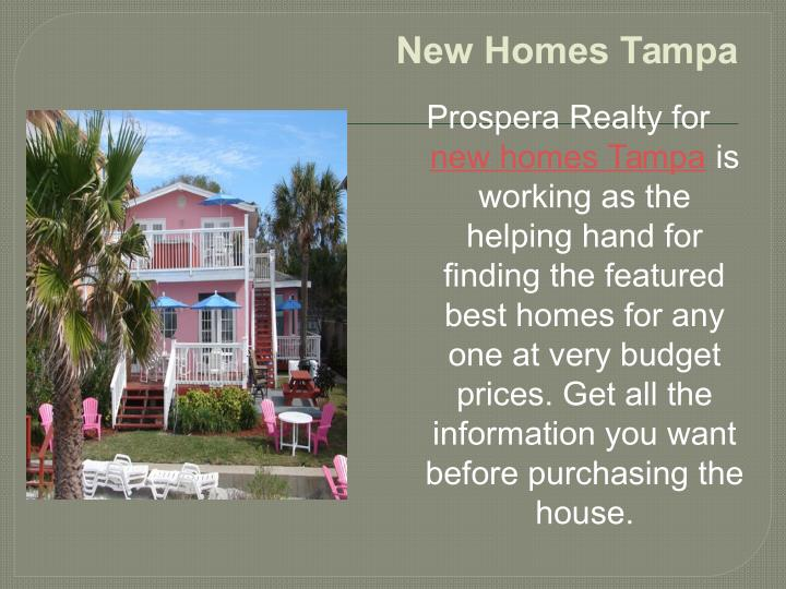 New Homes Tampa