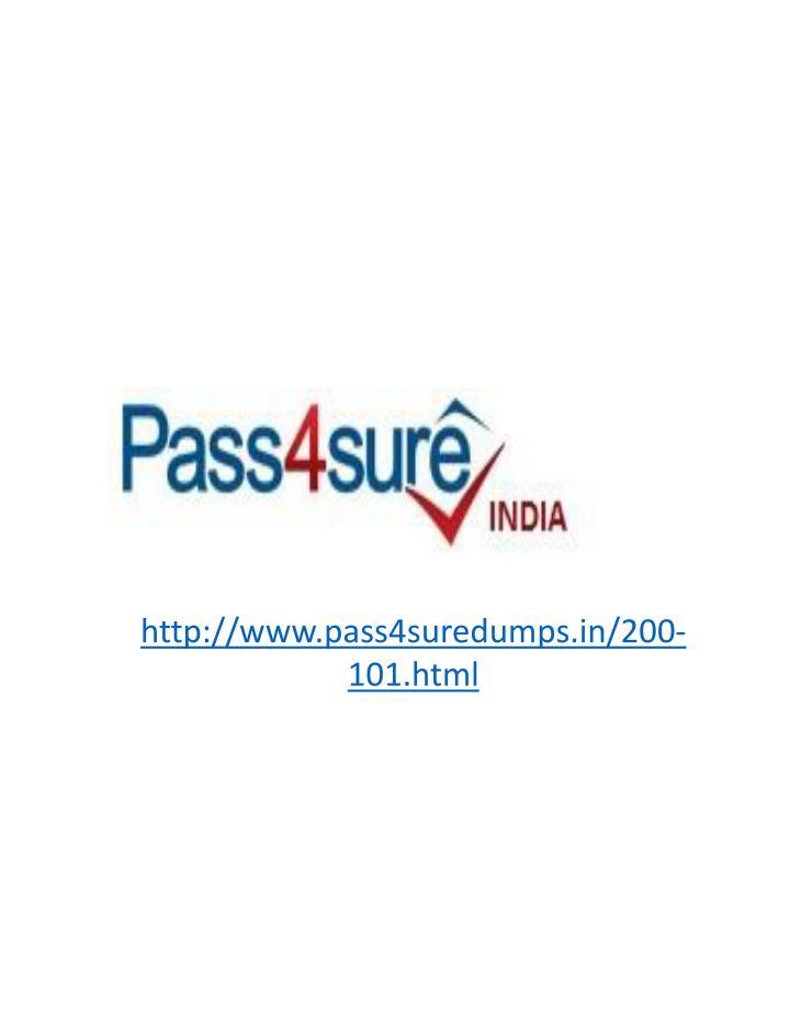 http://www.pass4suredumps.in/200-