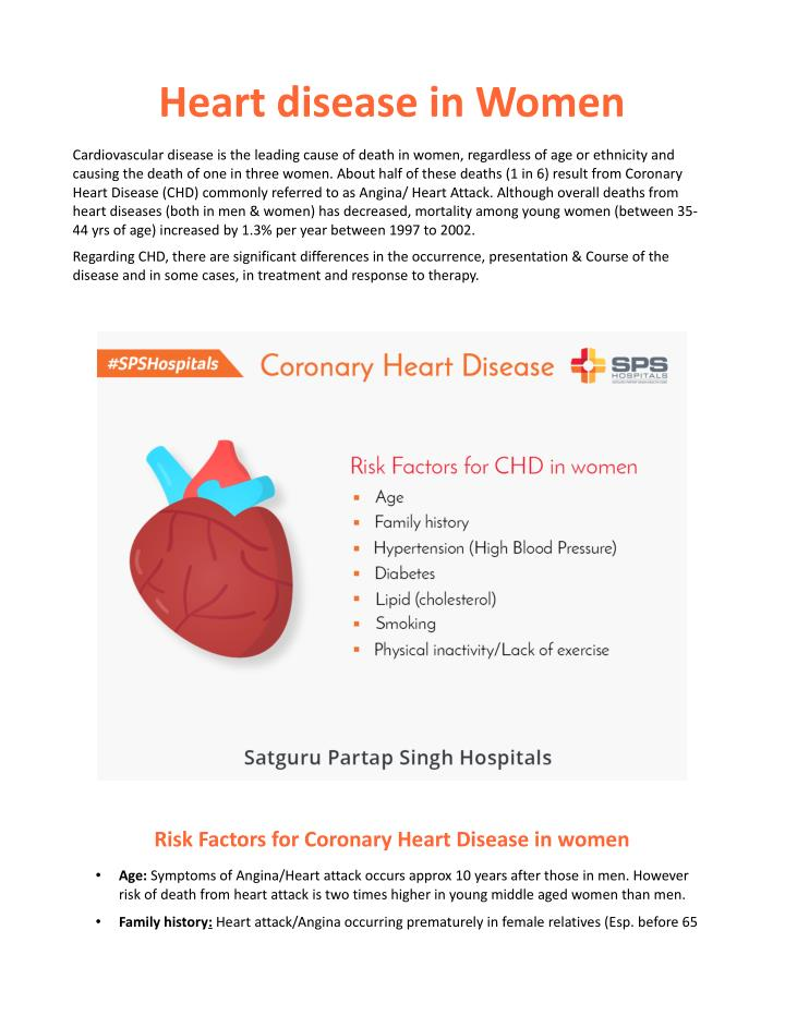 heart disease in women Heart disease is often associated with men, but it's actually the leading killer of women in the united states in 2013, nearly 300,000 women died as a result of heart disease, representing roughly one-quarter of all deaths involving women.