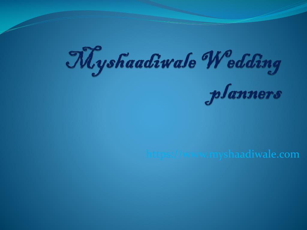 ppt indian wedding planner powerpoint presentation id 7328589