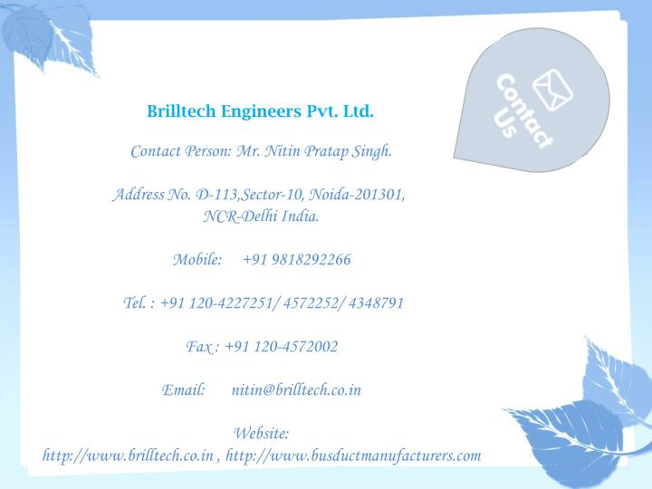 Brilltech Engineers Pvt. Ltd.