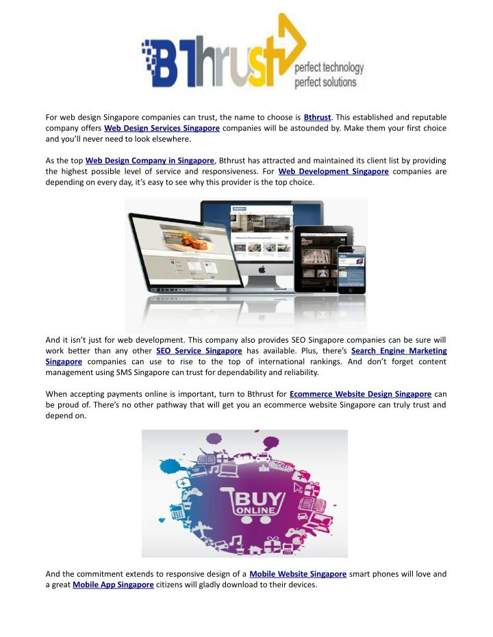 PPT - Bthrust web design and seo PowerPoint Presentation - ID:7329266