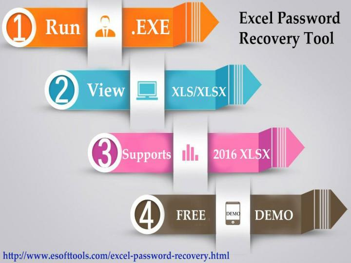 Excel password recovery tool to unlock break recover excel password