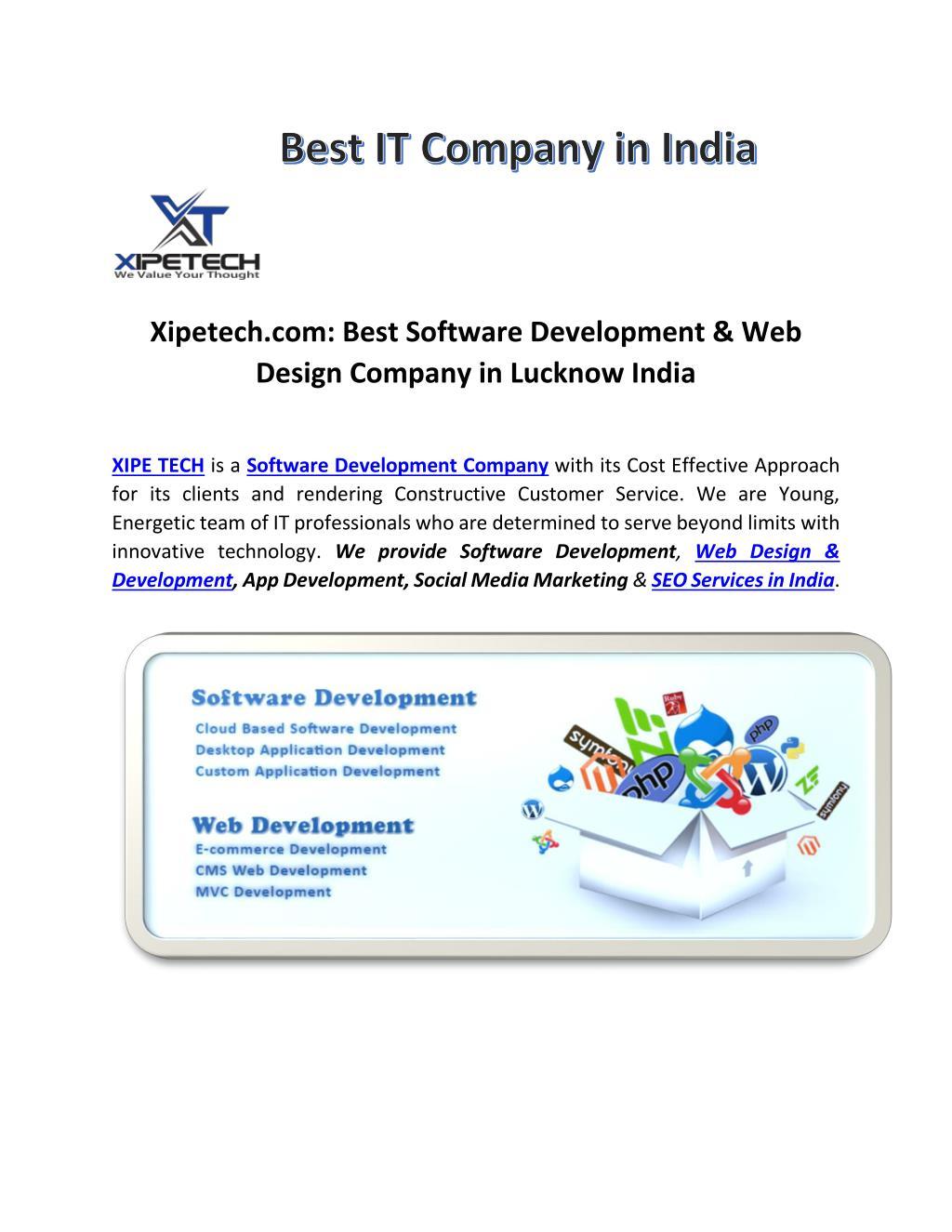 Ppt Xipetech Software Development Web Design Seo Company Lko Powerpoint Presentation Id 7329921